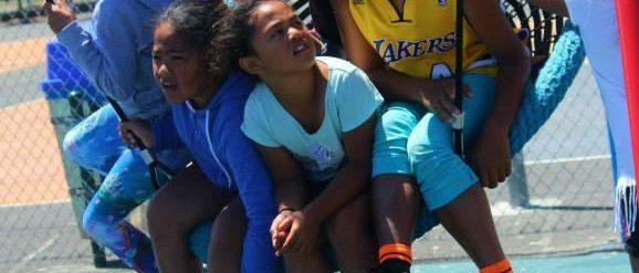 Kids in park, Waitangirua, 2015