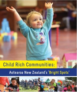 Front page of Child Rich Communities report