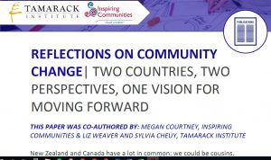 Reflections on Community Change Inspiring Communities