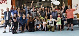Bayswater Repair Cafe - Volunteer Group cheering