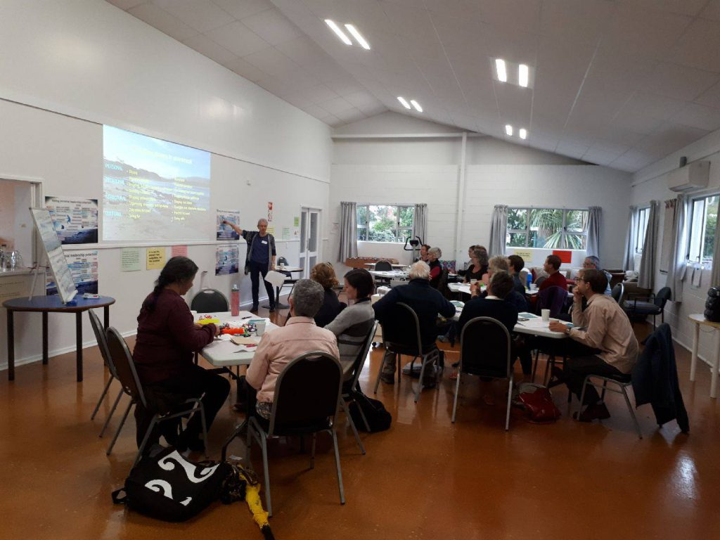 Leading in Community Change workshop, Nelson, 2018