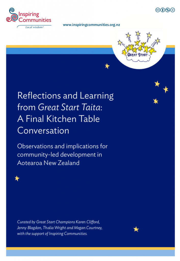 Reflections and Learning from Great Start Taita: A Final Kitchen Table Conversation Inspiring Communities