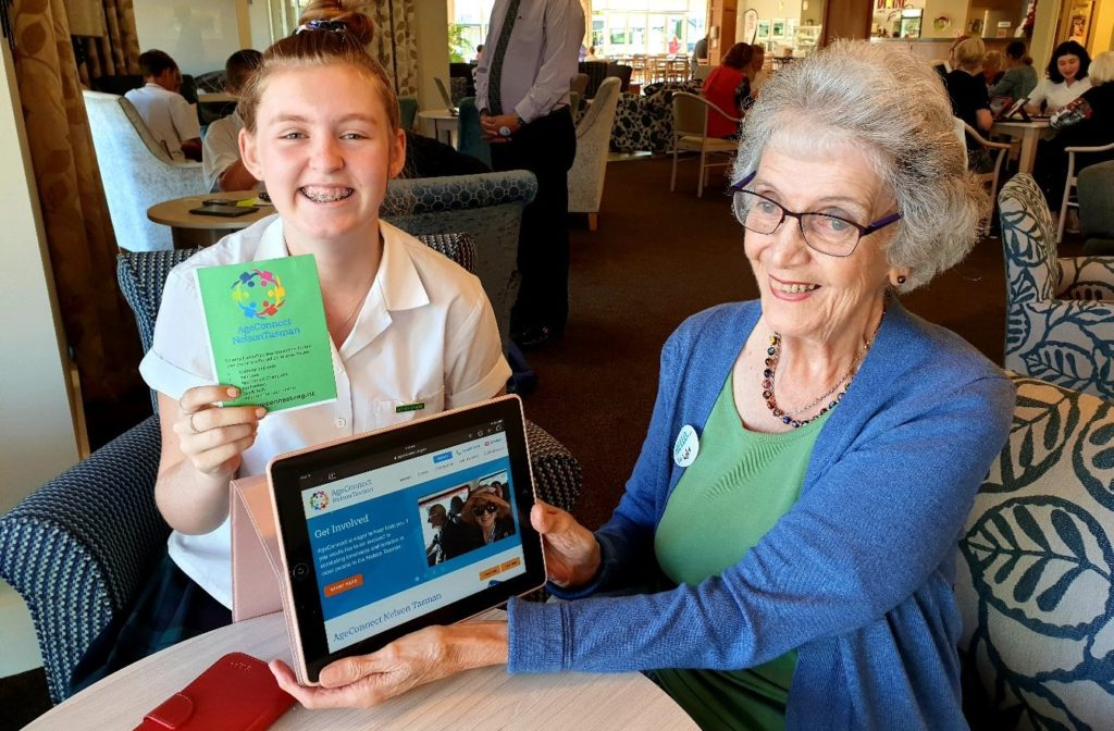 AgeConnect: looking out for our older generations Inspiring Communities