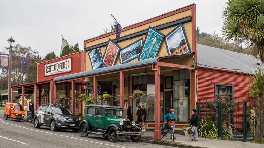 Punching above its weight: The revitalisation of Reefton. Inspiring Communities